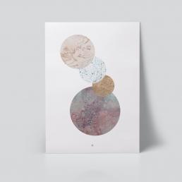 connected plakat grafisk marmor ohoi studio