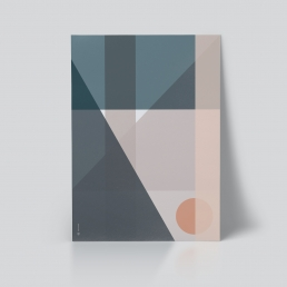 Plakat Geo Comp 4 geometrisk plakat ohoi studio