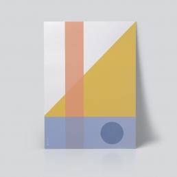 Geo Comp 01 Plakat geometri plakat ohoi studio