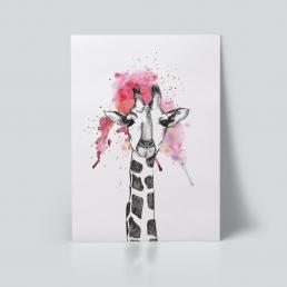 Giraff plakat dyr Ohoi Studio