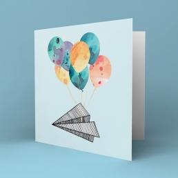 Fly papirfly kort
