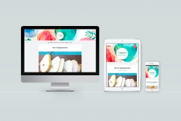 Anna's Food Stories | matlogg | blogg design | web