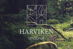 Harviken småbruk logo