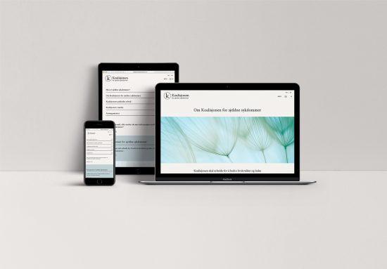 Koalisjonen for sjeldne sykdommer - nettside design webdesign - helse - enkel nettside Ohoi Studio