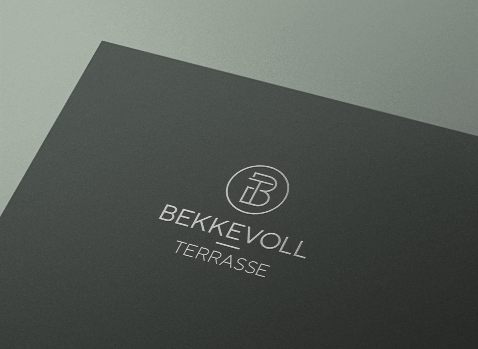 Bekkevoll Terrasse logo | Nettside eiendom | visuell identitet | markedsmateriell | prospekt